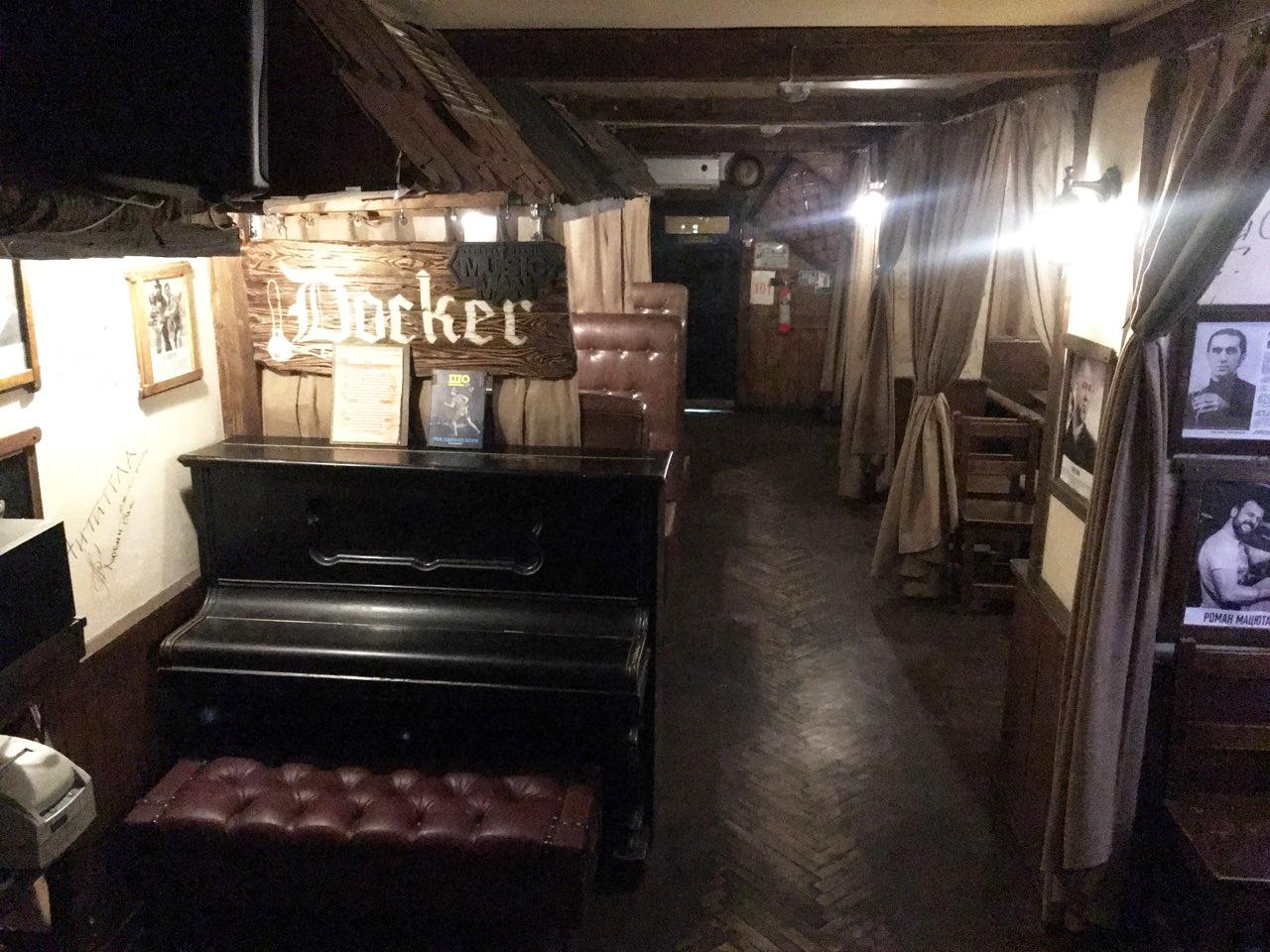Docker's ABС интерьер залов