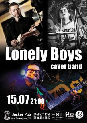 """""""Lonely Boys"""" cover band"""