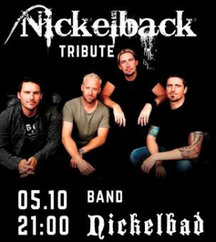 "5.10 – tribute ""Nickelback"" гурт ""Nickelbad"" Docker-G Pub"